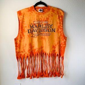 Harley-Davidson / Oklahoma Distressed Tee Shirt